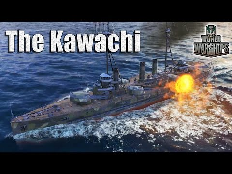 World of Warships: IJN Battleship Kawachi