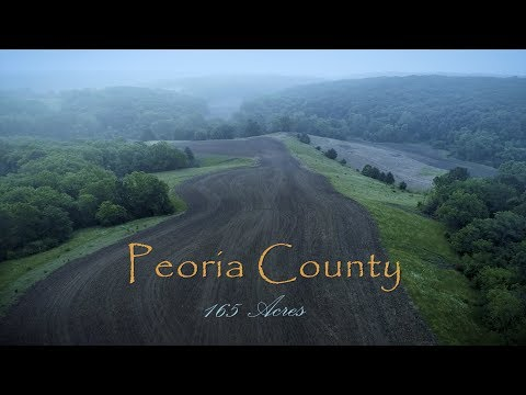 Peaceful Country Farm For Sale Just Minutes From Peoria, IL (165 Acres)