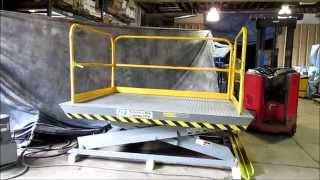 "For Sale: Autoequip 5,000 Lb.truck Scissor Dock Lift Portable Loading Dock 96""x72"""