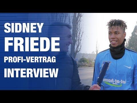 """""""ICH WILL IN DEN 18ER-KADER"""" - Friede - Interview - Hertha BSC - Berlin - 2018 #hahohe"""