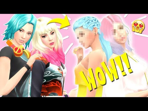 THE BEHR SISTERS ARE FIRE ?? | Clay to Slay CHALLENGE  - The Sims 4 thumbnail