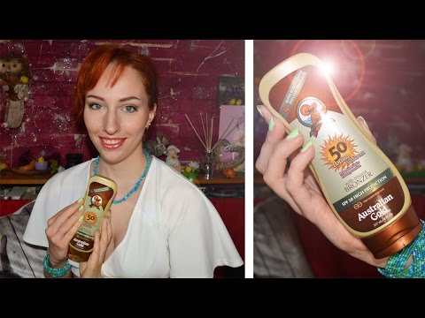 Review: Australian Gold SPF50 Sunscreen (with Instant Bronzer)