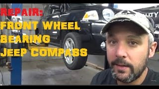Replace Front Wheel Bearing Jeep Compass