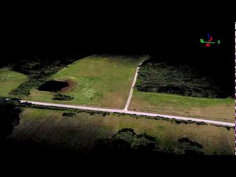 Canopy Penetration UAV LiDAR