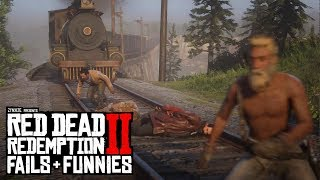 Red Dead Redemption 2 - Fails & Funnies #32