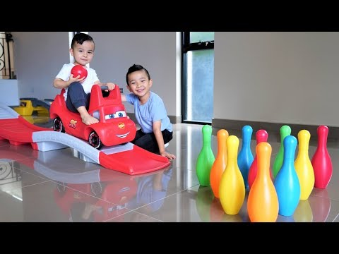 Disney Cars Thomas Indoor Bowling Fun Playtime With Ckn Toys