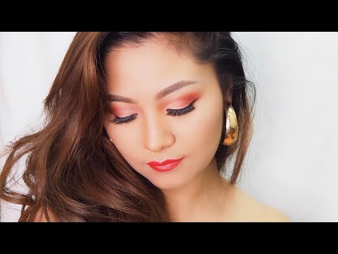 Cut crease eye makeup look❤️ thumbnail