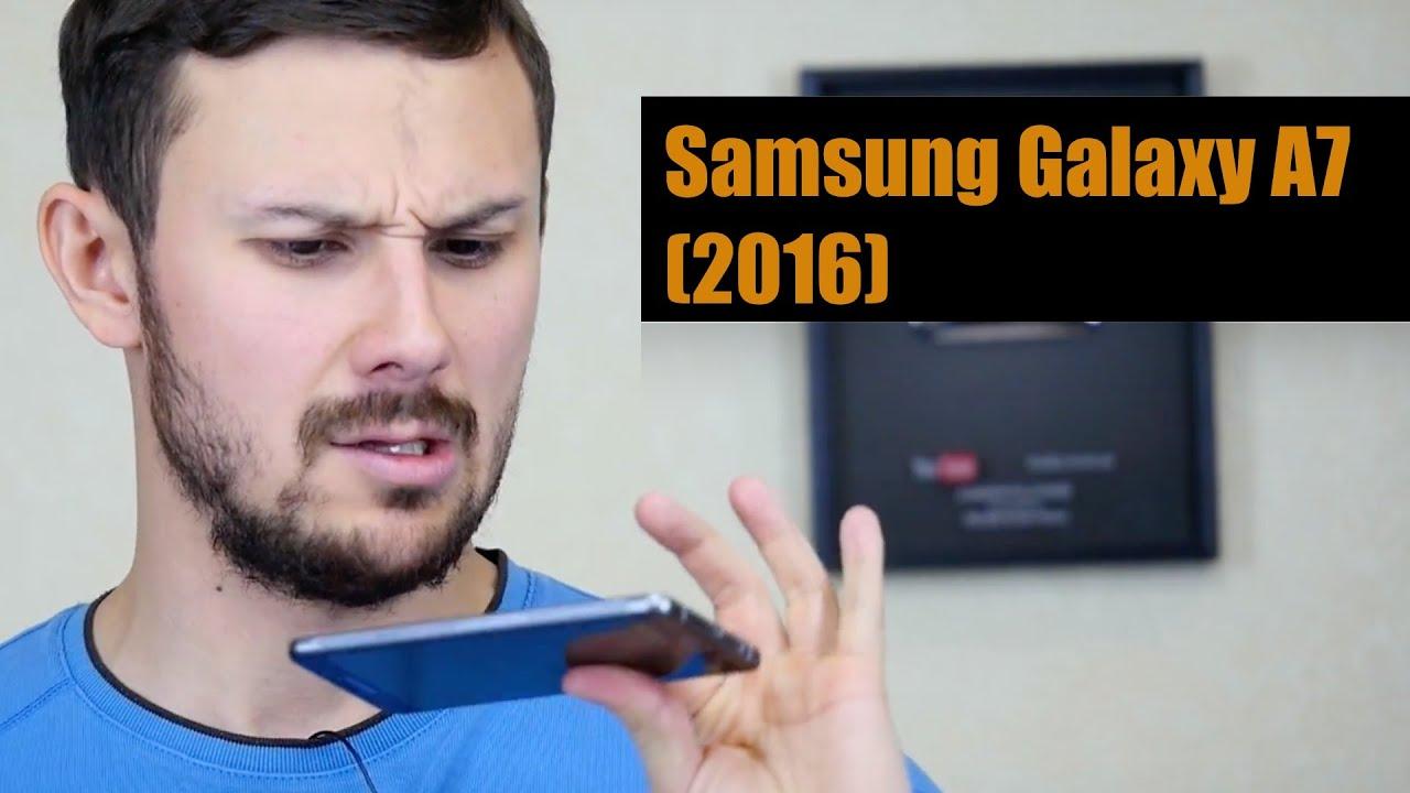 Защитная пленка BRONOSKINS для Samsung Galaxy A3 2016 - YouTube
