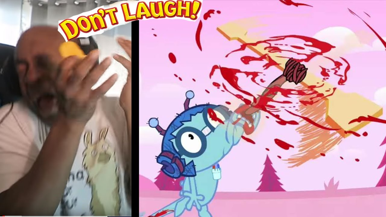 THESE ANIMATION'S ARE SCARIER THEN THEY ARE FUNNY #80 - Try Not To Laugh Challenge #77