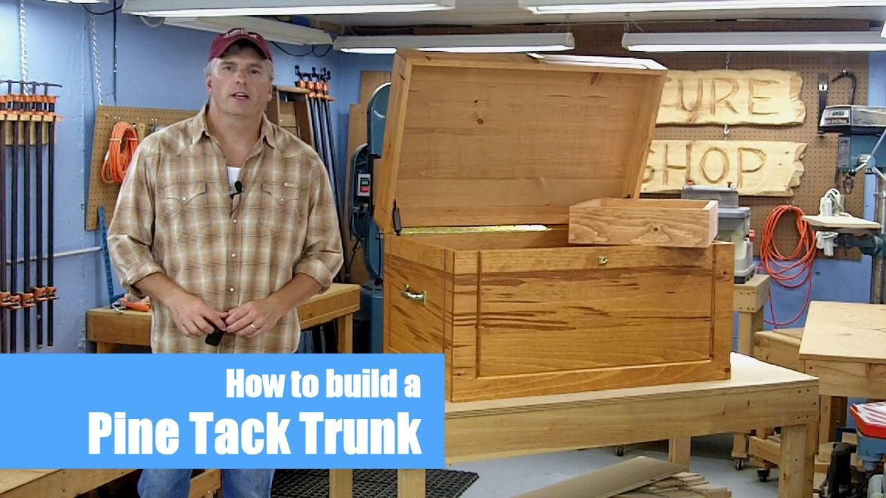 Tack Trunk Woodworking Project | Introduction - YouTube