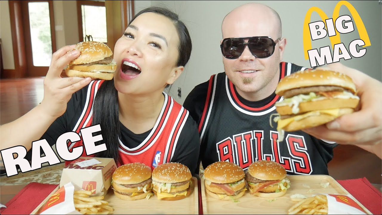 Mcdonalds Big Mac Race With Hubby Lets Eat Sasvlogs Youtube However, we can see him in some of her videos. mcdonalds big mac race with hubby lets eat sasvlogs