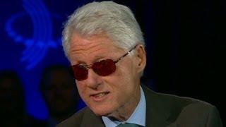 See Bill Clinton's 'Bono' impersonation