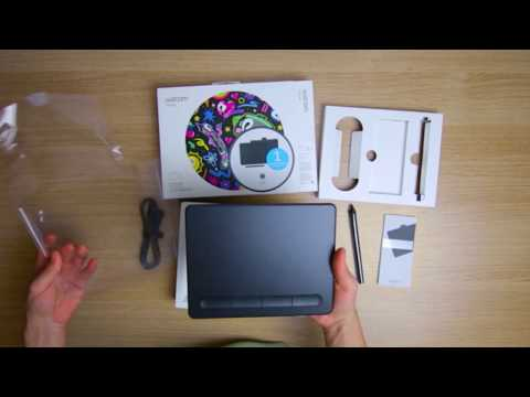 Downloading Bundled Software For Your Wacom Intuos Youtube