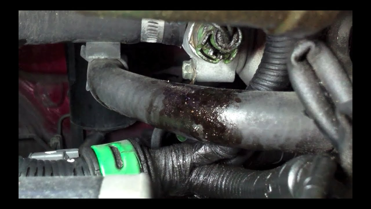 Detailed Replacement Heater Core Hose Honda Accord Youtube