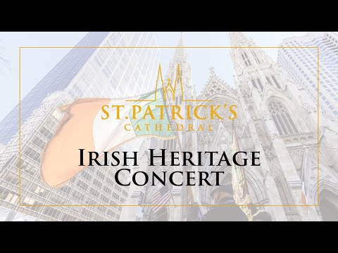 Irish Heritage Concert - March 11th 2021
