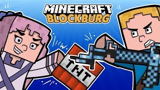 PSYCHOFANKA ZAATAKOWAŁA MIASTO! *tajemnica Prezydenta*- Minecraft BlockBurg