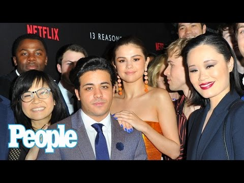 '13 Reasons Why' Cast On Show's Critics & Backlash, Working With Selena Gomez | People NOW | People