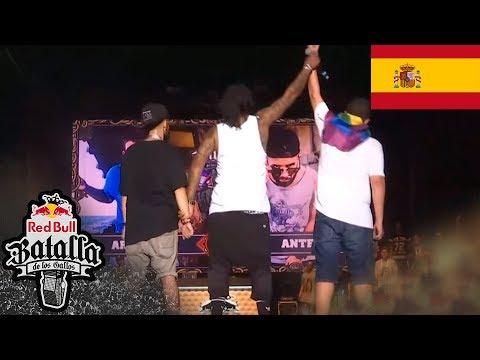 ARKANO vs ANTE -  Batalla Final: Alicante, España 2015 | Red Bull Batalla de los Gallos