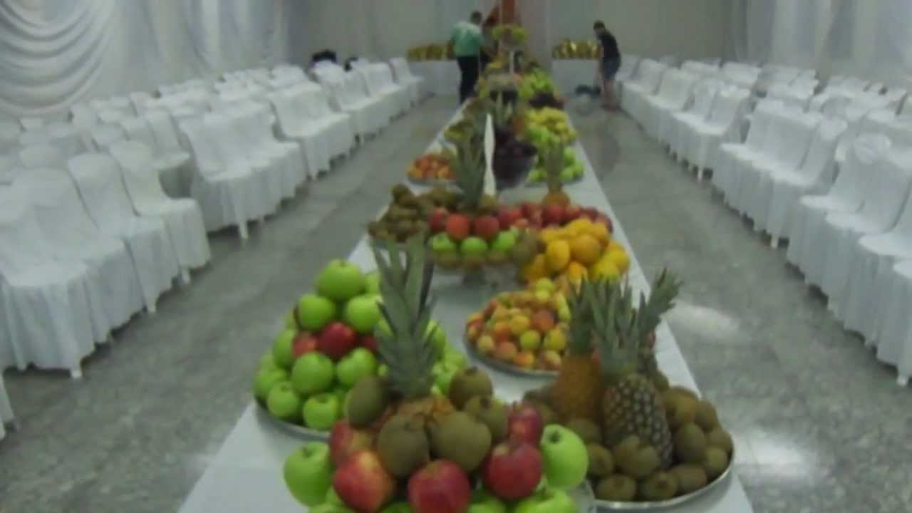 Decoraç u00e3o e mesa de fruta YouTube