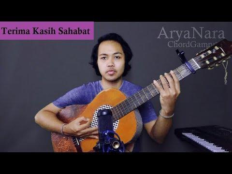 Chord Gampang (Terima Kasih Sahabat - Alvaro Maldini) By Arya Nara (Tutorial)