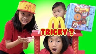 Pretend Play McDonalds FUN GAMES to Win Ryan's Toy Review Toys
