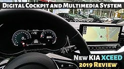 New Kia XCeed Digital Cockpit and Multimedia System