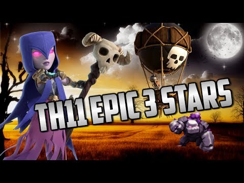 CLASH OF CLANS | TH11 3 STAR WAR STRATEGY | NO DIP LEAGUE NDL