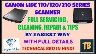 Canon Lide 120 Scanner Not Working