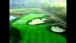 flyover of the 2nd hole at purgatory golf club
