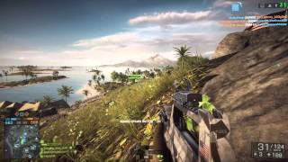 Battlefield 4 - PC Gameplay 1080p 4670k GTX 780 Ti 130% Resolution Scale, 2xMSAA, Ultra