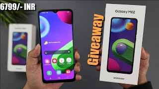 Samsung Galaxy M02 Unboxing Quick Review I Giveaway