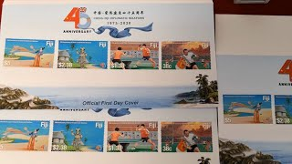 Commemorative stamps issued in Fiji to mark 45th anniversary of China-Fiji ties