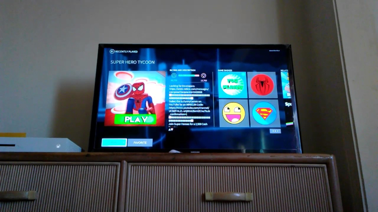 How To Get Free Robux On An Xbox One Youtube