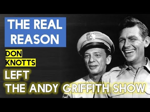 The Real Reason Why Don Knotts Left The Andy Griffith Show