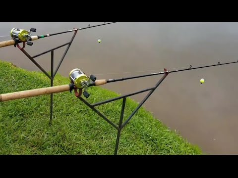 The BEST Bank Fishing Rod Holder DIY