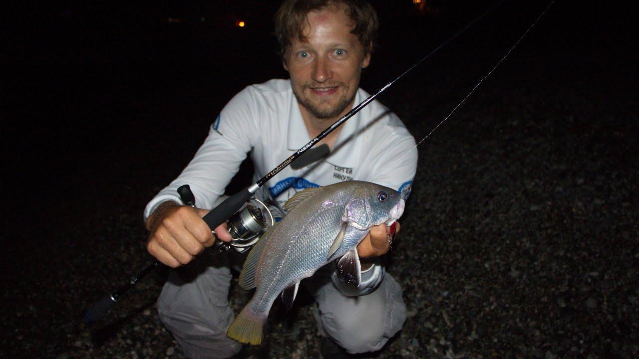 рыбалка на блесну в сочи