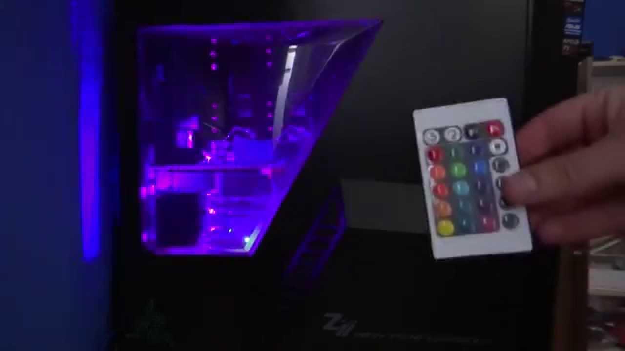 Jak Zrobić Podświetlenie Komputera Led Rgb Multi Color Led Tuning Pc