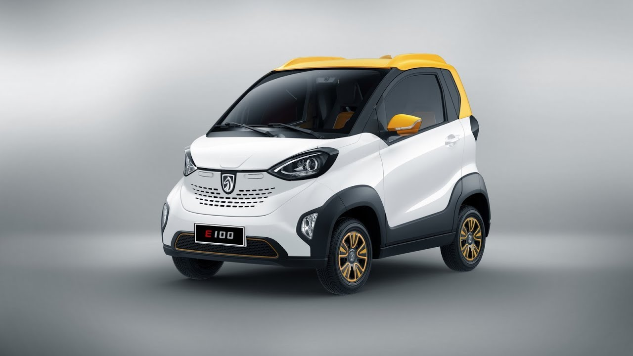 Baojun E100 The Only 5 300 Small Electric Car From China