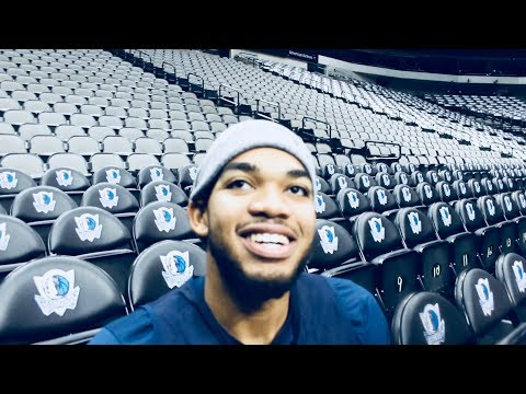 Karl Anthony towns talks nba 2k and playing against Dirk Interview