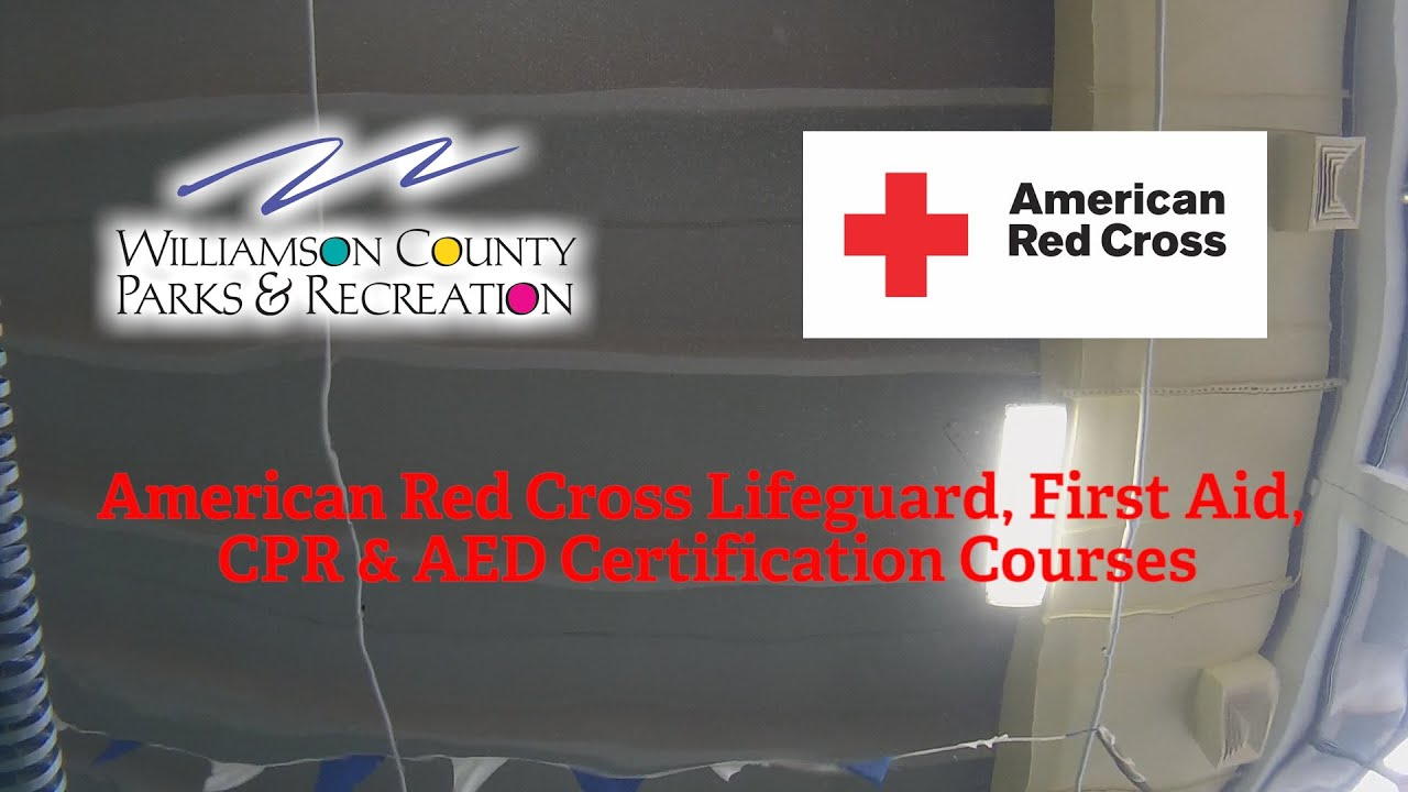 American Red Cross Lifeguard First Aid Cpr Aed Certification