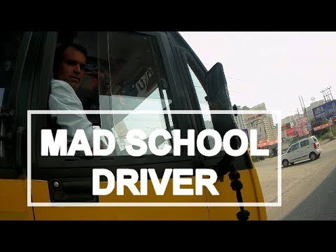 MAD SCHOOL BUS DRIVER | SHARE AS MUCH YOU CAN