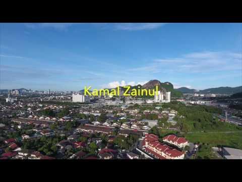 Gombak Kuala Lumpur from the eye of DJI Phantom 4 drone
