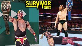 10 Last Second WWE Survivor Series 2019 Rumors & Spoilers - Rey Mysterio & Daniel Bryan Win Titles