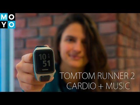 Обзор Спортивные смарт-часы TomTom Runner 2 Cardio + Music
