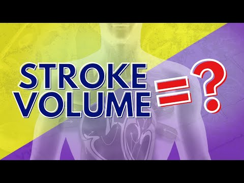 Cardiorespiratory: What is Stroke Volume