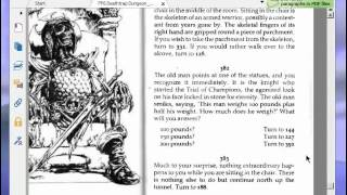 Let's Play Deathtrap Dungeon (Fighting Fantasy Game Book) Part 2
