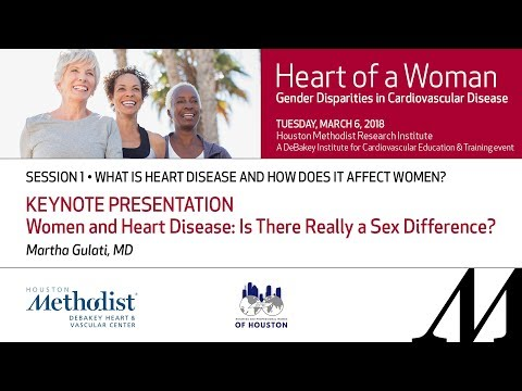 KEYNOTE PRESENTATION-Women and Heart Disease: Is There Really a Sex Difference? (Martha Gulati, MD)