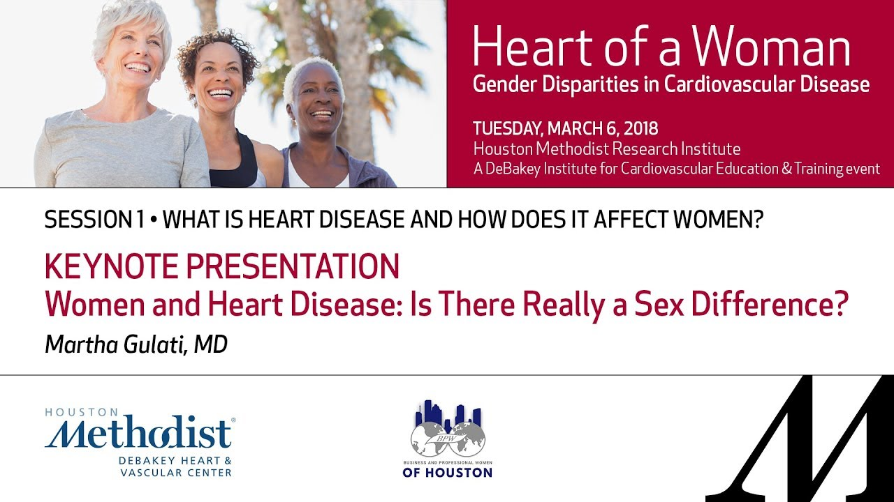Female heart condition and sex