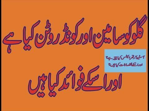 Glucosamine & Chondroitin Benefits Prevention For Osteoarthritis || Glucosamine!!Chondroitin In Urdu