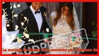 Le mariage de Karine Ferri assombri par l'absence de ces deux invités importants